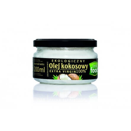 Olej Kokosowy Bio Extra Virgin 200 ml Look Food