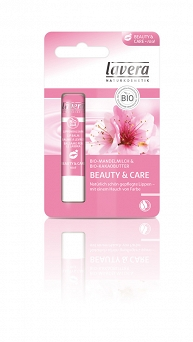 Balsam do ust Beauty & Care Rose 4,5g-Lavera