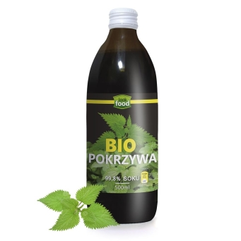 Bio Pokrzywa 99,8% soku 500 Ml - Look Food