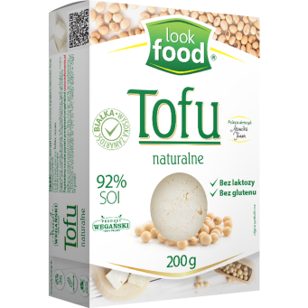 Tofu Naturalne 200 g - Look Food