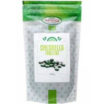 Chlorella w tabletkach 250 g Targroch - tabletki 1000 x 250 mg