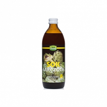 Sok Karczoch 500 ml Look Food