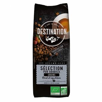 Kawa 100% Arabica Selection Ziarnista 250 g Eko Destination
