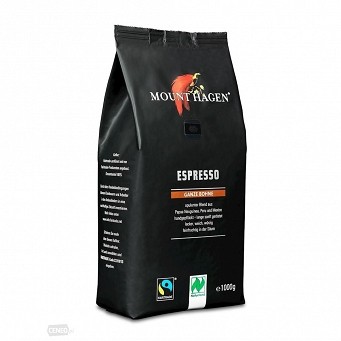 Kawa Ziarnista Espresso Fair Trade Bio 1kg Mount Hagen
