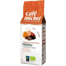 Kawa Fair Trade Mielona Peru Bio 250G-Cafe Michel