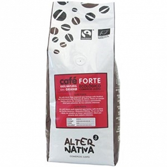 Kawa Ziarnista Forte Fair Trade Bio 500 G - AlternaNativa