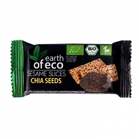 Sezamki z Nasionami Chia Bio 18 g - Earth Of Eco