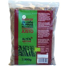 Cukier Trzcinowy Mascobado Fair Trade Bio 500 G -Alternativa 3