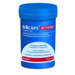 Bicaps Betaine Betaina 60 Kapsułek 39,6 g Formeds