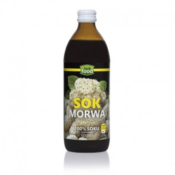 Sok Morwa Biała Bio 500 ml Look Food