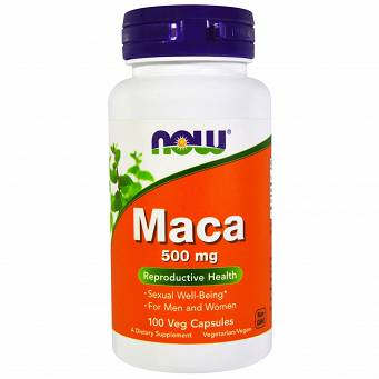 Maca 500 mg 100 Kapsułek Now
