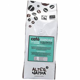 Kawa Ziarnista Essenziale Fair Trade Bio 500 G - Alternativa