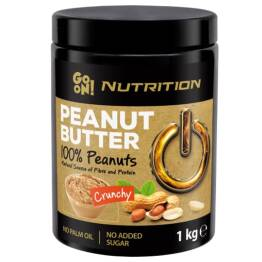 Go On Nutrition Peanut Butter Crunchy 100% 1 kg Sante