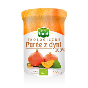 Puree z Dyni Bio 400 g Look Food
