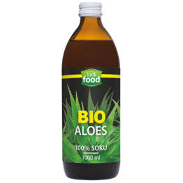Sok Aloes Bio 100% 1000 ml Look Food