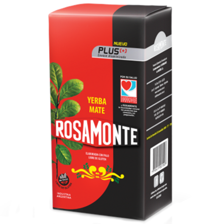 Yerba Mate Rosamonte Traditional Plus 500 g Intens