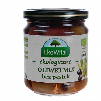 Oliwki Mix Bez Pestek Bio 212ml 100 g Ekowital