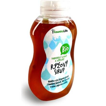 Syrop Ryżowy Bio 250 ml Country Life